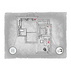 Комплект децентралізованої вентиляції для двокімнатної квартири  (м. Івано-Франківськ, вул. Стуса ) тип 2