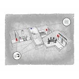 Комплект децентралізованої вентиляції для двокімнатної квартири  (м. Івано-Франківськ, вул. Стуса ) тип 3