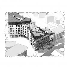 Централізована вентиляція  квартири  ЖК Бейкер Стріт. Шерлок Холмс, м.Львів ( двокімнатна )