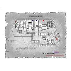Децентралізована вентиляція  квартири  ЖК Бейкер Стріт. Шерлок Холмс, м. Львів ( двокімнатна )