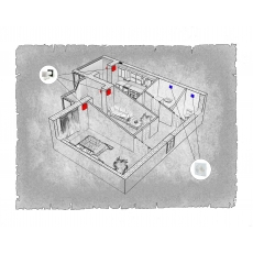 Природна вентиляція  квартири  ЖК Корона Дубово, м. Хмельницький (двокімнатна)