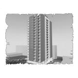Природна вентиляція  квартири  ЖК Лайтхаус, вул. Фучика 30, м. Дніпропетровськ ( двокімнатна )