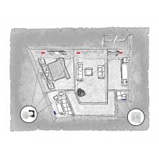 Комплект децентралізованої вентиляції для двокімнатної квартири  ЖК Перспектива (м. Івано-Франківськ)