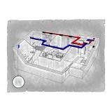 Комплект централізованої вентиляції для двокімнатної квартири  ЖК Перспектива (м. Івано-Франківськ)