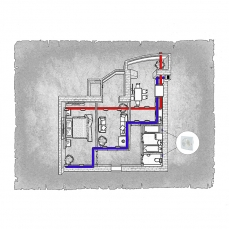 Централізована вентиляція  квартири  ЖК Ріверсайд м. Рівне ( двокімнатна )
