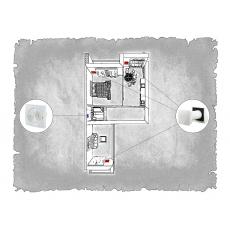 Децентралізована вентиляція  квартири ЖК Санта Нова  м. Львів ( двокімнатна )