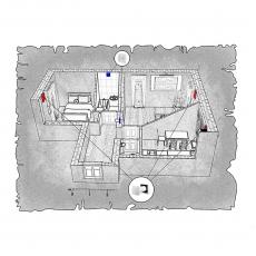 Децентралізована вентиляція  квартири ЖК Затишний, м. Дніпропетровськ, вул. Соціалістична,  ( двокімнатна )