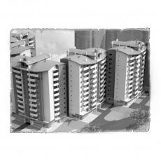 Централізована вентиляція  квартири ЖК по вул. Рівненська м. Чернівці ( двокімнатна )