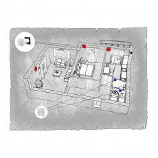 Децентралізована вентиляція  квартири ЖК по вул. Рівненська м. Чернівці ( двокімнатна )