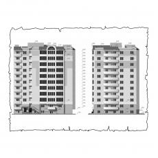 Централізована вентиляція  квартири на вул. 1 Гвардійської армії 21а, м. Чернігів, ( трикімнатна ) тип 2