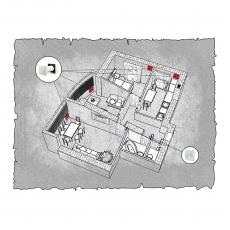 Природна вентиляція  квартири  на вул. 1 Гвардійської армії 21а, м. Чернігів, (трикімнатна)