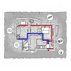 Централізована вентиляція  квартири на вул. 1 Гвардійської армії 21а, м. Чернігів, (трикімнатна)