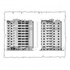 Децентралізована вентиляція  квартири  на вул. 1 Гвардійської армії 21а, м. Чернігів (трикімнатна)