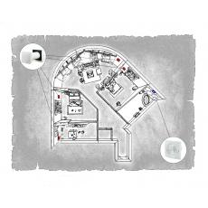 Комплект децентралізованої вентиляції для трикімнатної  квартири  (м. Донецьк  вул. Ілліча )