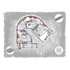 Комплект централізованої вентиляції для трикімнатної квартири  (м. Донецьк,  вул. Ілліча )