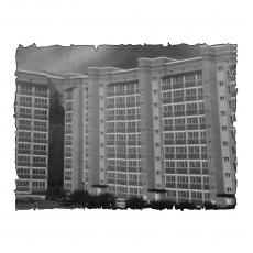Природна вентиляція  квартири на вул.Іващенка 2  м. Луцьк (трикімнатна) тип 2