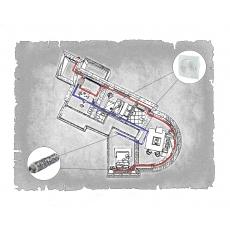 Комплект централізованої вентиляції для трикімнатної квартири  (м. Полтава  вул. Панянка )