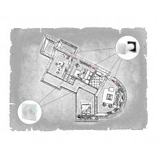 Комплект децентралізованої вентиляції для трикімнатної квартири  (м. Полтава  вул. Панянка )