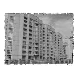 Природна вентиляція  квартири  ЖК Банківський, вул. Перемоги, 99 м. Житомир (трикімнатна)