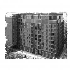 """Децентралізована вентиляція  квартири  ЖК """"Бруклін"""" , вул. Ямська 52, м. Київ (трикімнатна)"""