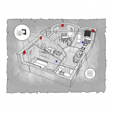 Децентралізована вентиляція  квартири  ЖК Lux House вул. Соборна 5а м. Рівне ( трикімнатна )