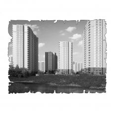 Централізована вентиляція  квартири ЖК Мерідіан, м. Київ, вул. Кадетський Гай, ( трикімнатна )