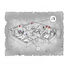 Децентралізована вентиляція  квартири  ЖК Мерідіан, м. Київ, вул. Кадетський Гай, ( трикімнатна )
