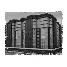 Централізована вентиляція  квартири  ЖК Набережний квартал, м. Дніпропетровськ, ( трикімнатна )