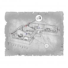 Природна вентиляція  квартири ЖК Набережний квартал, м. Дніпропетровськ, (трикімнатна)