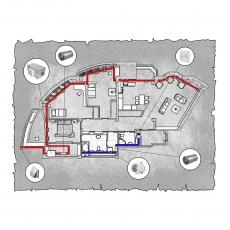 Приточна вентиляція  квартири  ЖК Павлове Поле  м. Харків ( трикімнатна )