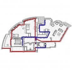 Централізована вентиляція  квартири  ЖК Павлове Поле  м. Харків ( трикімнатна )