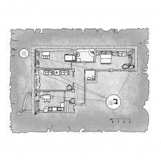 Децентралізована вентиляція  квартири в ЖК Тихий центр, вул. Грязнова, м.Запоріжжя (трикімнатна)