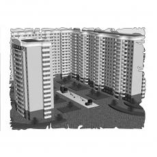 Централізована вентиляція  квартири  в ЖК Тихий центр, вул. Грязнова, м.Запоріжжя (трикімнатна)