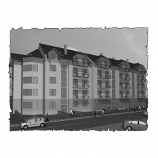 Централізована вентиляція  квартири ЖК Затишна оселя, вул. Володимирська, м. Ужгород,  ( трикімнатна ) тип 2