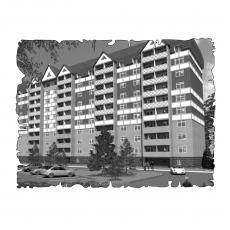 Децентралізована вентиляція  квартири на пр. Постишева 36, м. Харків  (трикімнатна)