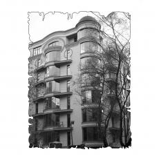 Централізована вентиляція  квартири на вул. Франка 11, Київ  (трикімнатна)