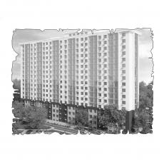Централізована вентиляція  квартирина вул. Кулика 31, м. Херсон (трикімнатна) тип 2