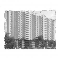 Децентралізована вентиляція  квартири на вул. Кулика 31, м. Херсон (трикімнатна) тип 2