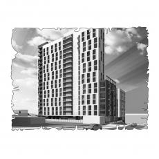 Децентралізована вентиляція  квартири  на вул Лейпцигска 13, м. Київ (трикімнатна)
