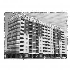 Децентралізована вентиляція  квартири на  вул. Північна 115 , м. Хмельницький (трикімнатна)