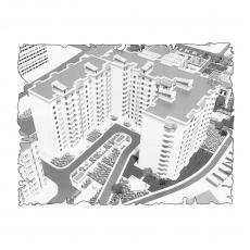 Централізована вентиляція  квартири  на вул. Зоопаркова 8, м. Одеса, ( трикімнатна )