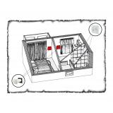 Комплект децентралізованої вентиляції для однокімнатної квартири старого фонду тип 1