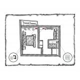 Комплект децентралізованої вентиляції для однокімнатної квартири старого фонду тип 2