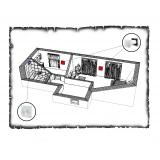 Комплект децентралізованої вентиляції для однокімнатної квартири старого фонду тип 4
