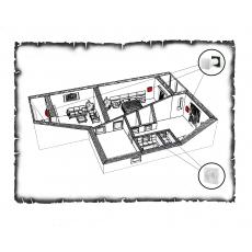 Комплект децентралізованої вентиляції для двокімнатної квартири старого фонду тип 2