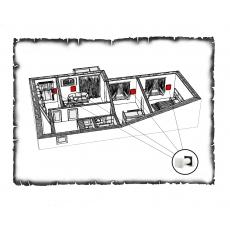 Комплект децентралізованої вентиляції для трикімнатної квартири старого фонду тип 1